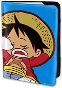 5.5 Inch Passport Holder Cover- Luffy And Zoro Leather Travel Wallet Case Protector