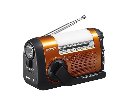 ソニー 手回し充電対応ポータブルラジオ