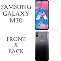 Ethos Shield Samsung Galaxy M30 (Front and Back) Hammer Proof Full Body Screen Protector   Designed to fits Edge to Edge