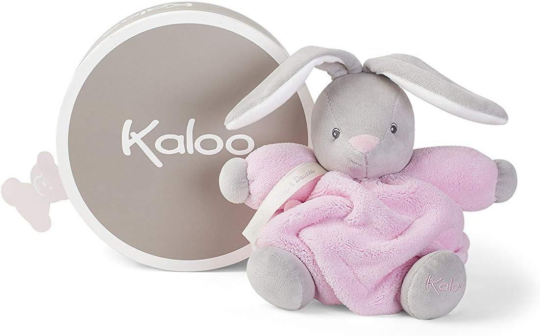 Kaloo - Colección Plume Conejito Blando Gordinflón de peluche 18 cm, Rosa (K969561)