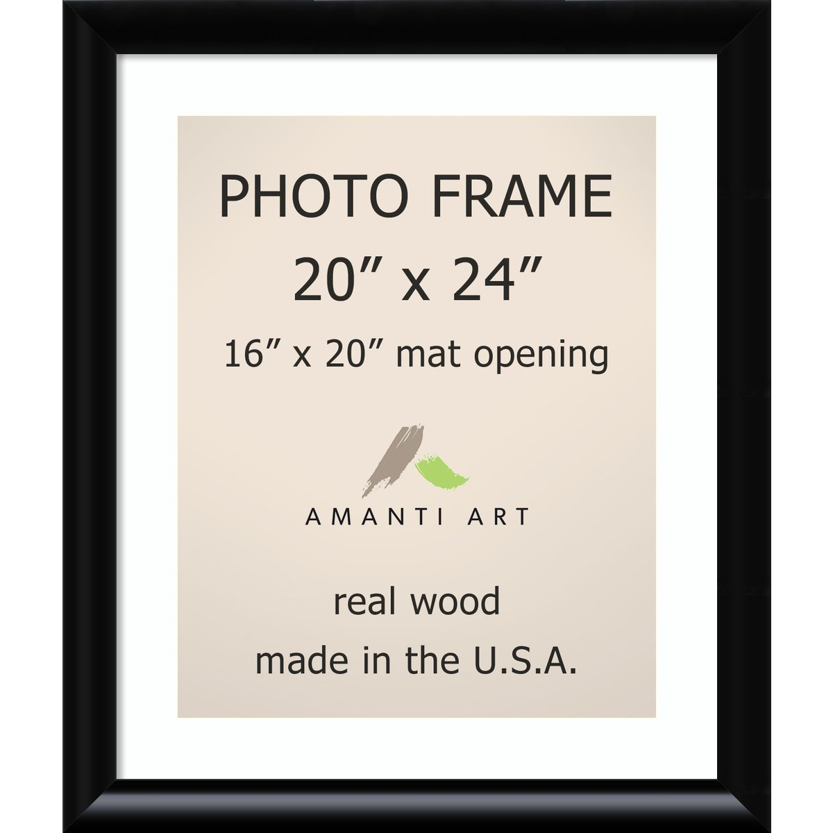 Amazoncom Picture Frame 20x24 Matted To 16x20 Steinway Black