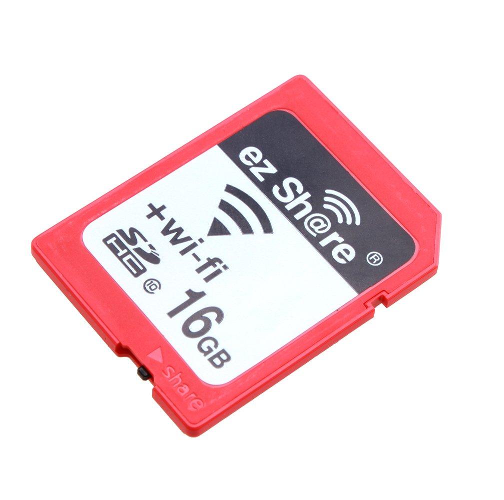 EZ compartir Wifi SDHC 16 GB Clase 10 tarjeta de memoria flash SD ...