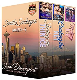 Seattle Sockeyes Hockey Boxed Set: Games 1-3 (Game On in Seattle Book 0) by [Davenport, Jami]