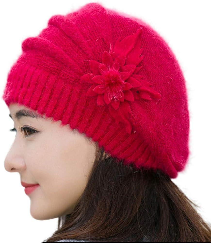 Keep Warm Headwear Flower...