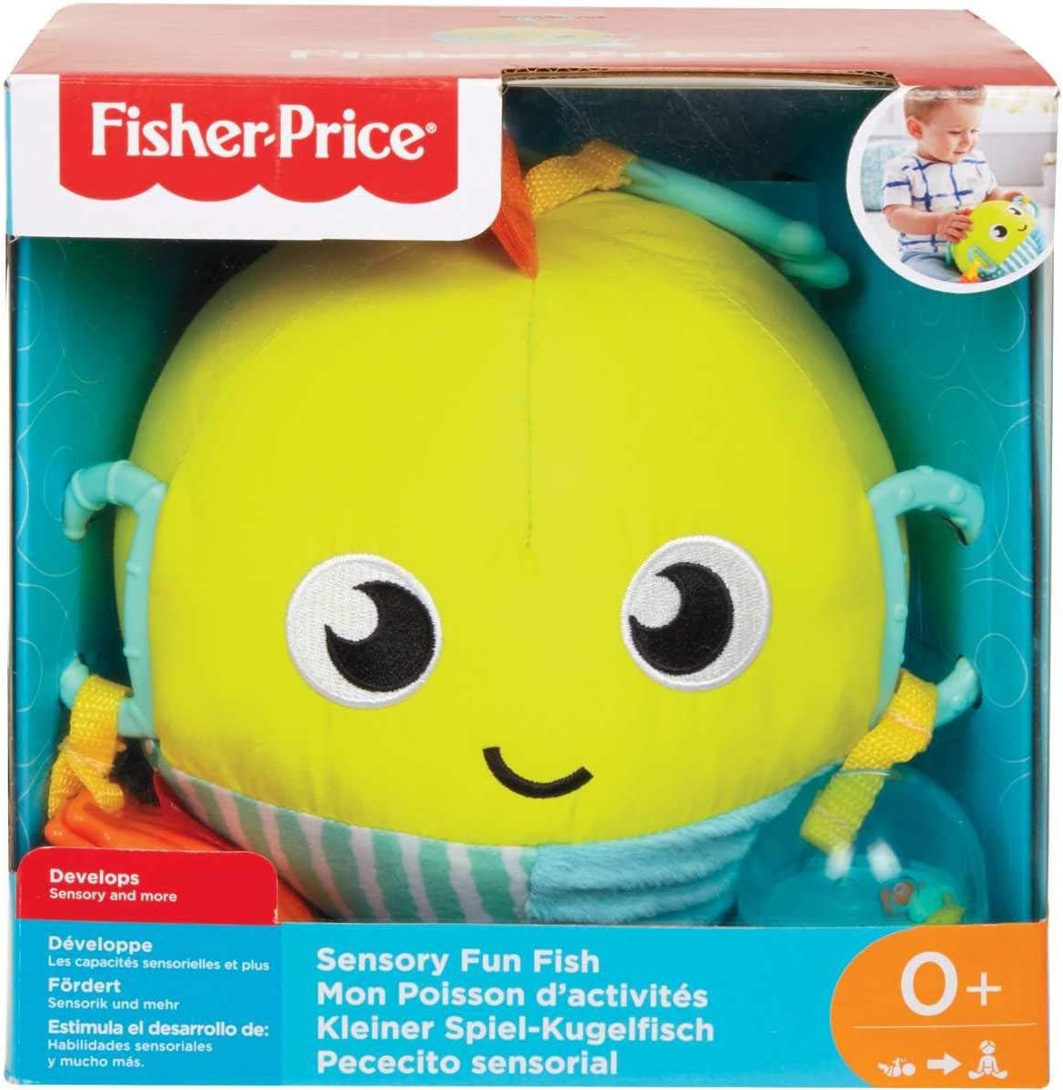 GFC36 Fisher-Price Appendere Soffice Pesciolino Sensoriale