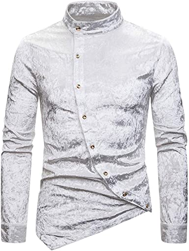collier col chemise homme