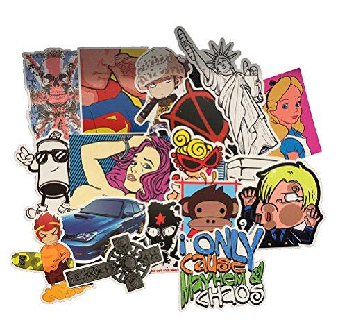 Review Fngeen Random Sticker 50-500pcs