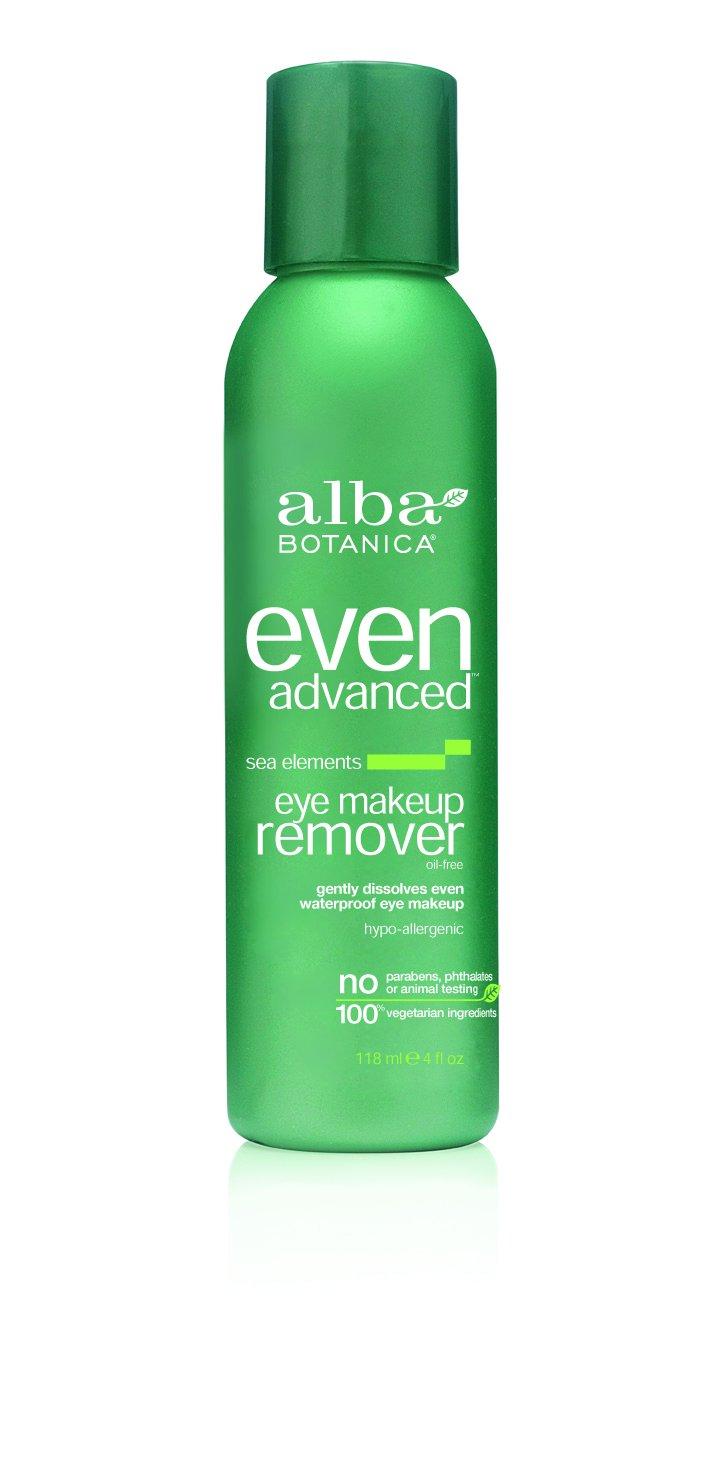 Alba Botanica Advanced Skincare Sea Elements Eye Makeup Remover, 4 Fluid Ounce AL00305