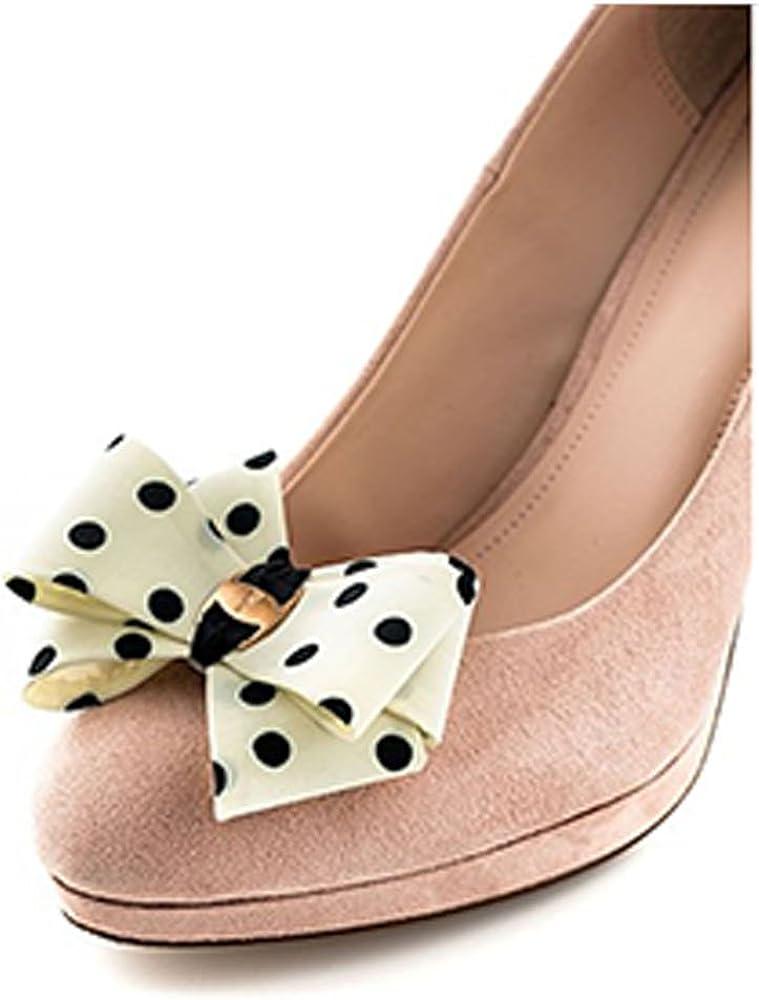 La Loria Mujer Clips de Zapatos bucle, meandro, moña, corbatín ...