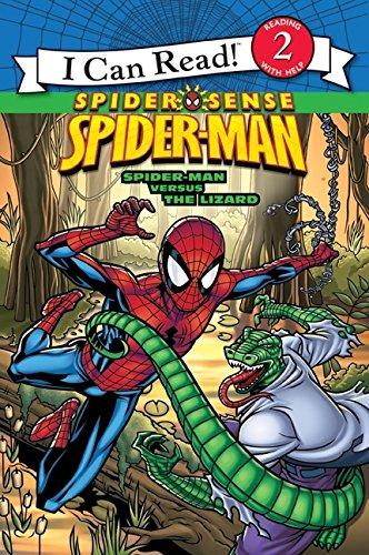 Spider-Man: Spider-Man versus the Lizard (I Can Read! Spider Sense Spider-Man: Level 2)]()