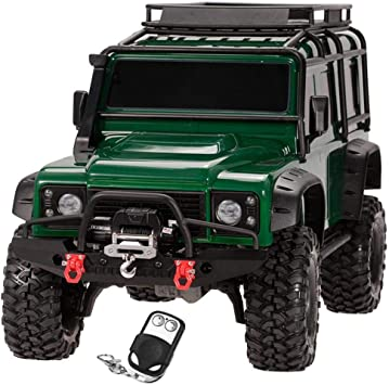 Front Bumper LED Lamp Winch Controller Receiver Kit for 1//10 RC TRAXXAS TRX-4
