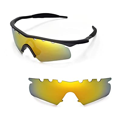 Amazon.com : Walleva Vented Replacement Lenses for Oakley M Frame ...