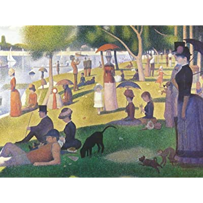 Adult Jigsaw Puzzle 500 Piece Wooden Puzzle Sunday Afternoon On The Island of La Grande-Jatte for Teenagers and Adults,Very Good Educational Game: Toys & Games