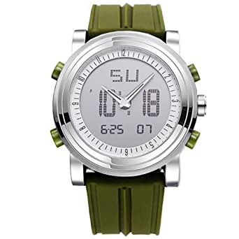 5f4535c0ce 「ビンズ」BINZIメンズ腕時計 アウトドア スポーツ 軍事腕時計 防水 アラーム ストップウォッチ クロノグラフ