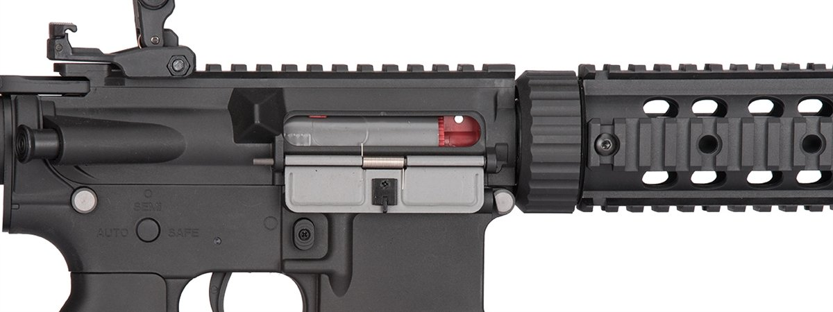 Amazon.com: Lancer Tactical bajo FPS M4 Gen 2 AEG Pistola de ...