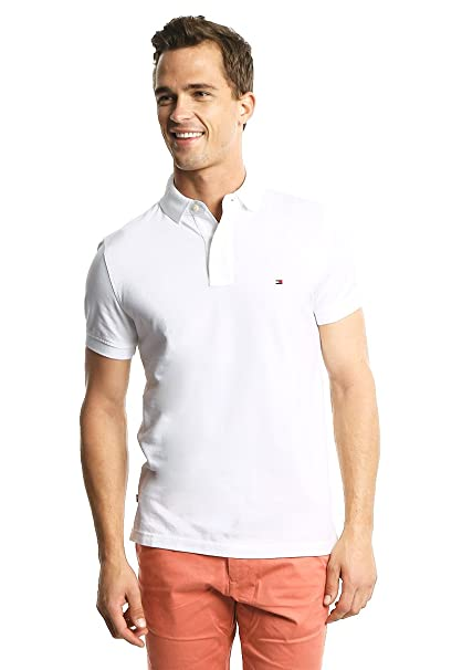 Tommy Hilfiger Polo para Hombre  Amazon.com.mx  Ropa 480bb321be7ba