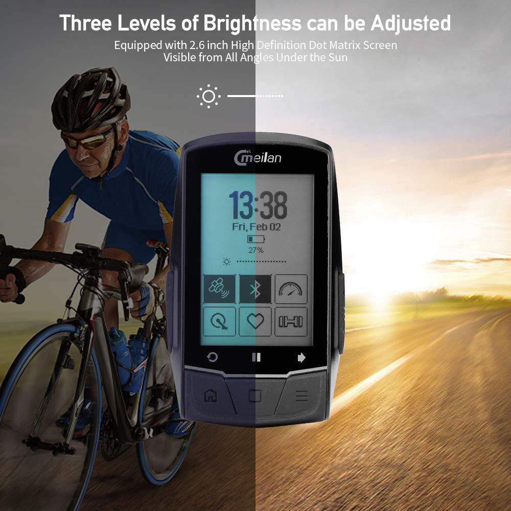 Amazon.com: Meilan M1 - Ordenador inalámbrico para bicicleta ...
