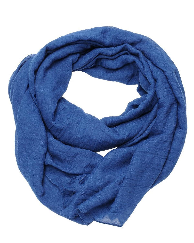 ImiLoa basic Tuch, Blau, Sommer Tuch, leichtes Tuch, Strand tuch, leichter Schal