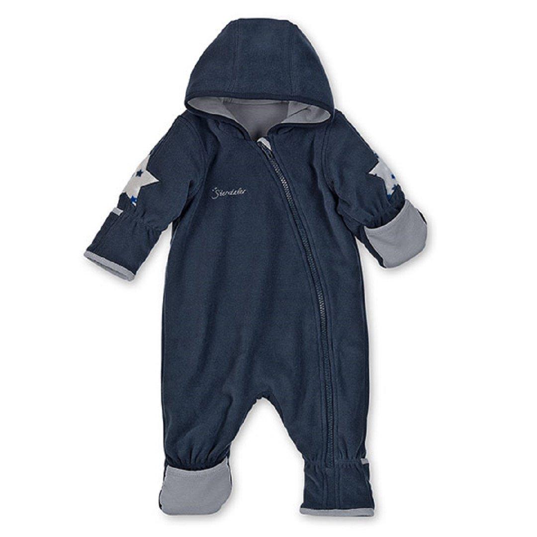 Sterntaler Baby Fleece Overall Anzug marine 5501702