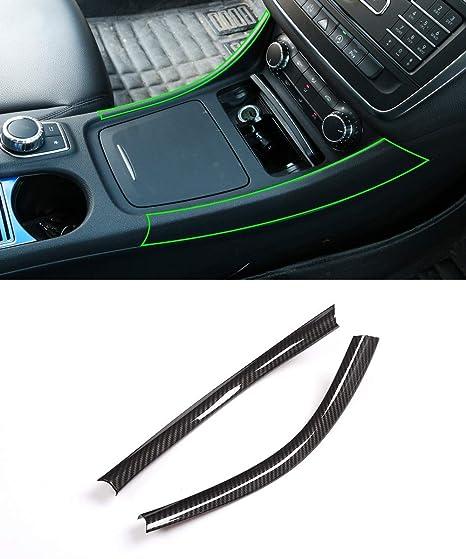 Front Left//Right Pair Ebony Black Chrome Lever Inside Interior Inner Door Handle Housing PT Auto Warehouse GM-2546MA-FP3