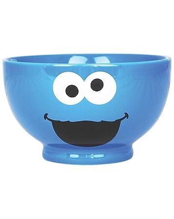 Official Sesame Street Cookie Monster Bowl  sc 1 st  Amazon.com & Amazon.com : Official Sesame Street Cookie Monster Bowl : Grocery ...