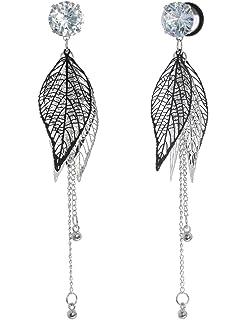 Amazon.com: COOEAR - Medidores para orejas, piercing ...