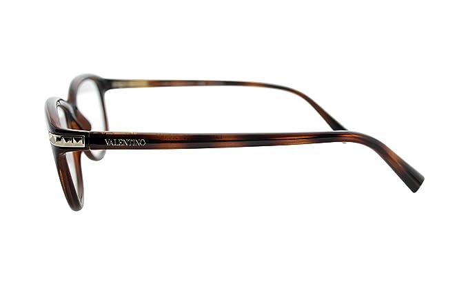 4fc3ef2947e Amazon.com  VALENTINO Eyeglasses V2652 214 Havana 52MM  Clothing
