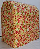 Penny's Needful Things Orange & Yellow Polka Dots Cover Compatible for Kitchenaid Stand Mixer (All Polka Dots, 7qt Proline/8qt Commercial)