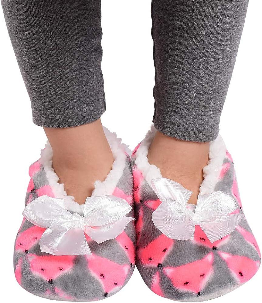 Panda Bros Kids Animal Slipper Socks Fluzzy Warm Bedroom Shoes Cartoon Cozy Fleece Indoor Slipper Boys Shoes Handbags Urbytus Com