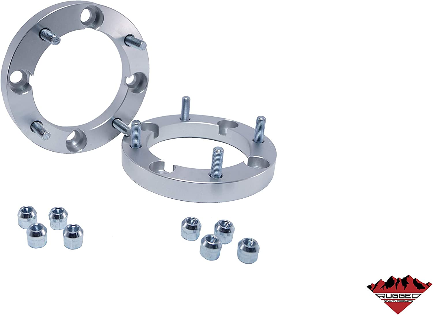 See Description for fitment Rugged Wheel Spacer Front /& Rear 1 for Canam Kawasaki Talon