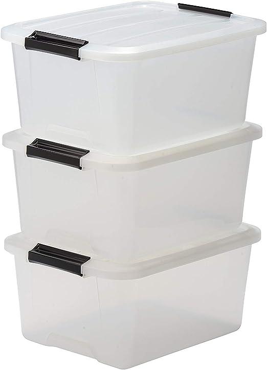 Iris Ohyama Top Box TB-15 Lote de 3 Cajas apilables de ...