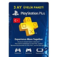 Sony PlayStation Plus Card 90 Gün [PlayStation 4 ]