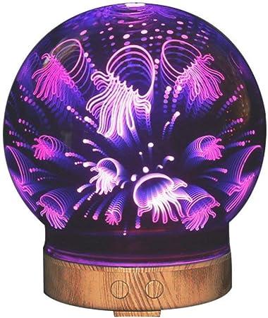 WLJXYD Lampara Novedad, Aroma Essential Oil Diffuser Aromaterapia ...