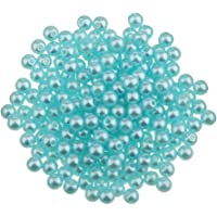 Baoblaze 400Pcs Wholesale 4mm ABS Plastic Pearl Beads With Hole DIY Bridal Jewelry