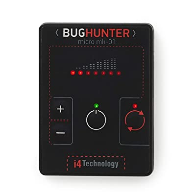 Smallest Anti-Spy Signal Detector BugHunter Micro Hidden Camera Microphone Cellphone Detector : Camera & Photo