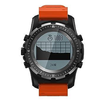 Docooler S966 Sport Men Watch GPS de randonnée en Plein air Fréquence Cardiaque Écran de 1