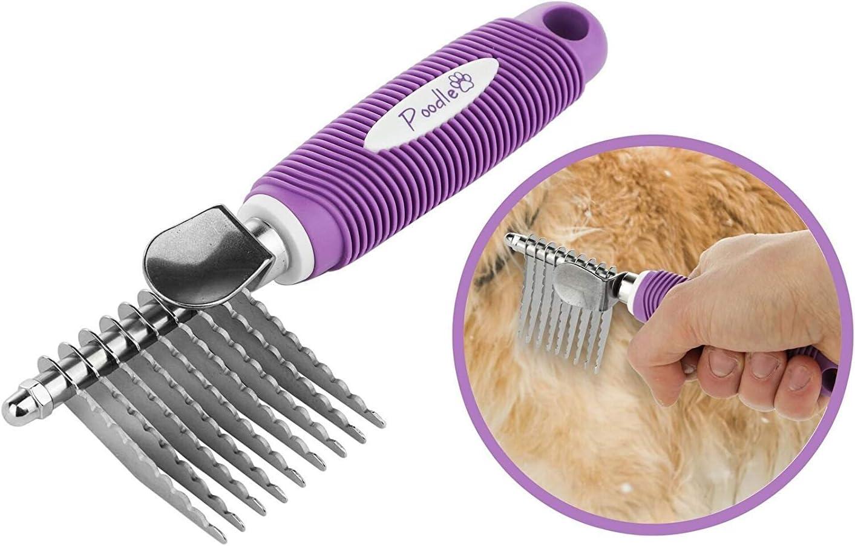 Poodle Pet Dematting Fur Comb Review