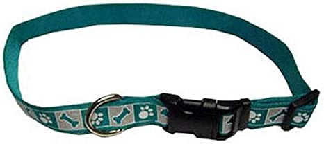 "HAMILTON ADJUSTABLE DOG COLLAR-SPORT ID-5//8/"" X 12-18/""-CHOOSE COLOR"