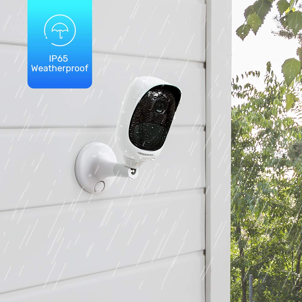 Reolink Argus Pro (Pack of 2) Rechargeable Battery Solar-Powered Outdoor Wireless Security Camera, 1080p HD Night Vision, 2-Way Audio, Alarm Alert and PIR Motion Sensor, Built-in SD Socket and Cloud by REOLINK (Image #5)