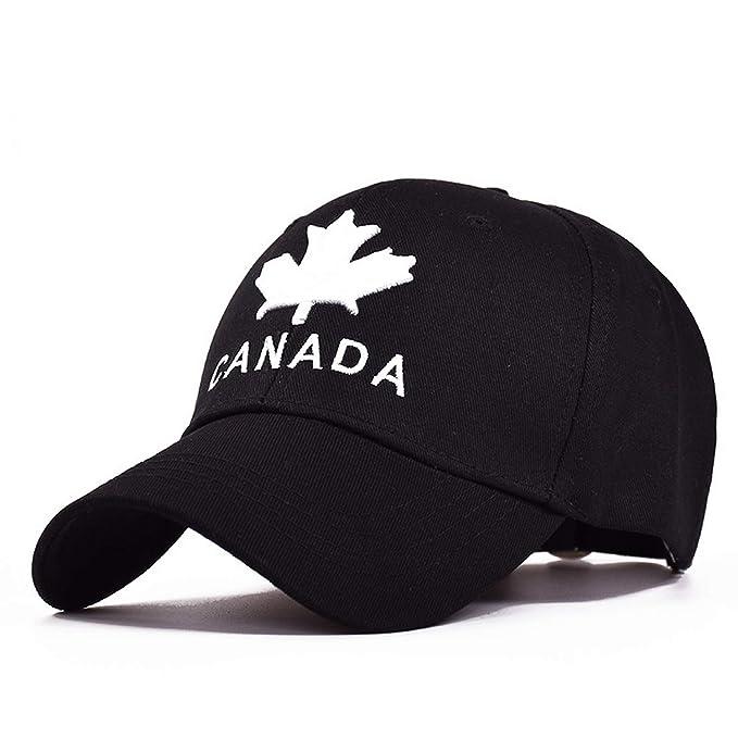 abdf98690d0423 TokLask 2019 New Canada Letter Cotton Embroidery Baseball Caps Snapback Hat  for Men Women Leisure Cap