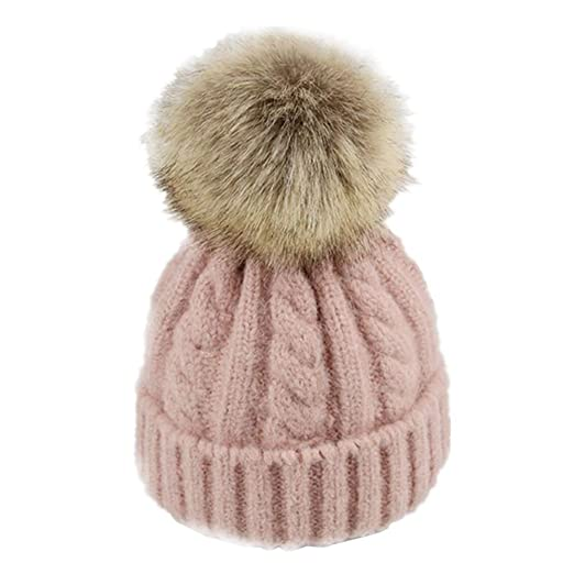 Image Unavailable. Image not available for. Color  Kids Autumn Winter Pom  Pom Hats ... 3b2afa2fc26b
