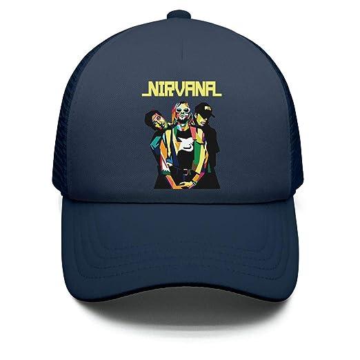 b0befc52bb8 Amazon.com  SEeRRroO Girl Nirvana Art Poster Baseball Cap Adjustable  Snapback Dad hat Vintage  Clothing