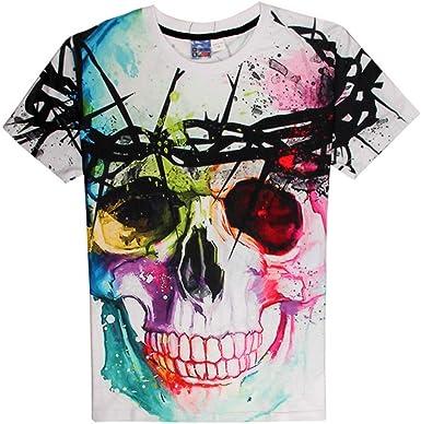 Camisa de compresión para Hombre Rock Punk Wind Color de ...