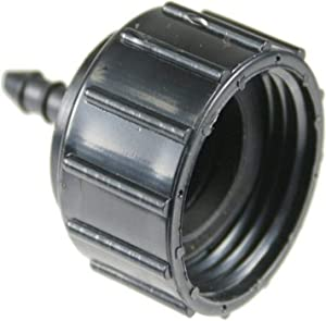 LASCO 15-5658P 1/4-Inch Barb by Female Hose Thread Drip Tube Adapter