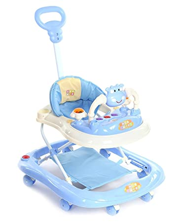Mee Mee Baby Walker with Adjustable Height and Push Handle Bar  Blue Buy Mee Mee Baby Walker with Adjustable Height and Push Handle Bar  . Mee Mee Baby Bather Online India. Home Design Ideas