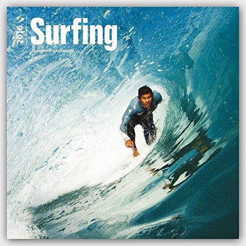 Surfing 2016 - Surfen - 18-Monatskalender: Original BrownTrout-Kalender [Mehrsprachig] [Kalender] (Wall-Kalender)
