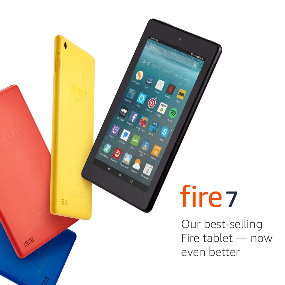 Fire 7 Tablet  (7'' display, 16 GB) - Red - (Previous Generation - 7th) by Amazon (Image #5)
