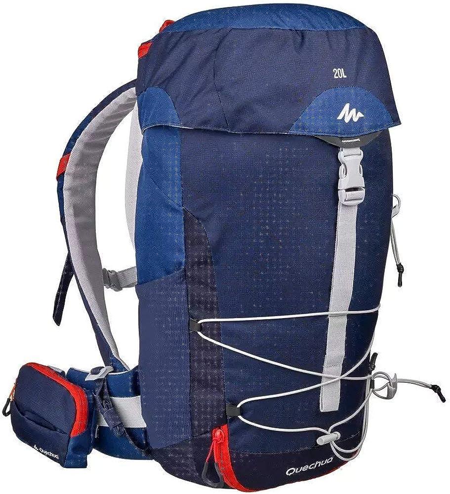Quechua MH100 - Mochila de senderismo (20 L), color azul ...