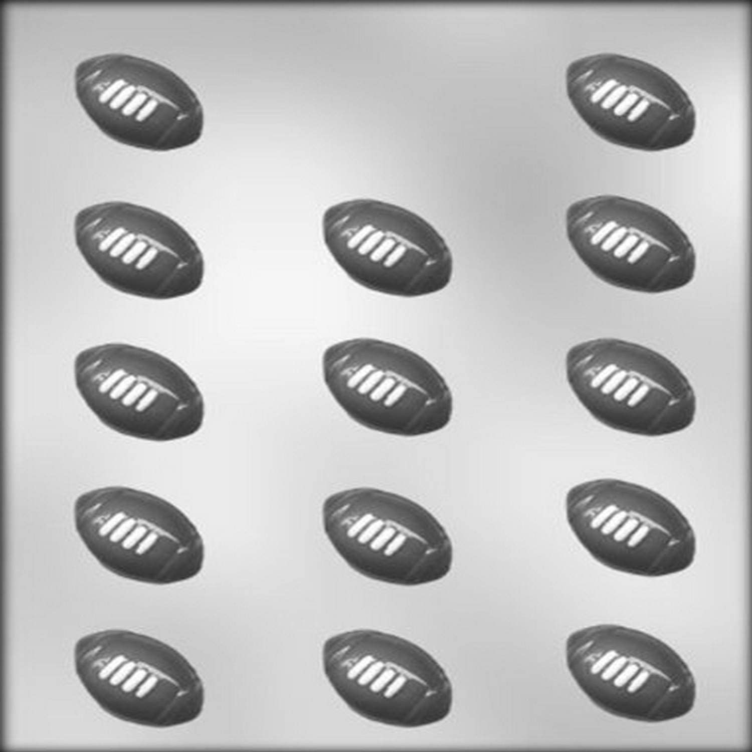 CK Products 1-1/2-Inch Football Chocolate Mold