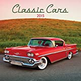 Avalanche January to December, 12 x 24 Inches, Perfect Timing Classic Cars 2015 Wall Calendar (7001611)